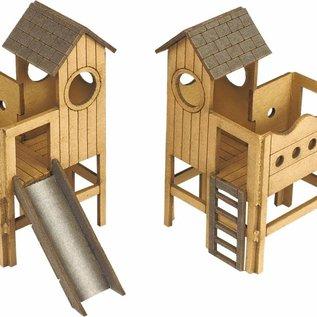 Metcalfe Metcalfe PO513 Kinderspeelplaats (Schaal H0/00, Karton)