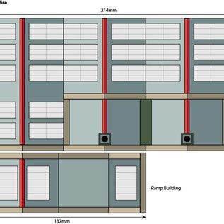 Metcalfe Metcalfe PO321 Parcel Offices (Gauge H0/00)