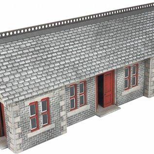 Metcalfe Metcalfe PO334 Bahnsteiggebäude Settle/Carlisle (Spur H0/00)