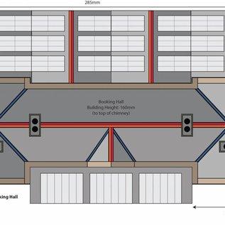 Metcalfe Metcalfe PO320 Hoofdlijn stations hoofdgebouw (Schaal H0/00, Karton)