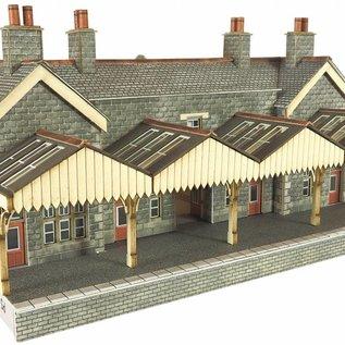 Metcalfe Metcalfe PN920 Hoofdlijn stations hoofdgebouw (Schaal N, Karton)