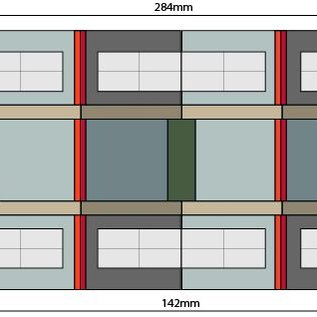 Metcalfe Metcalfe PO322 Island Platform Buildings (Gauge H0/00)