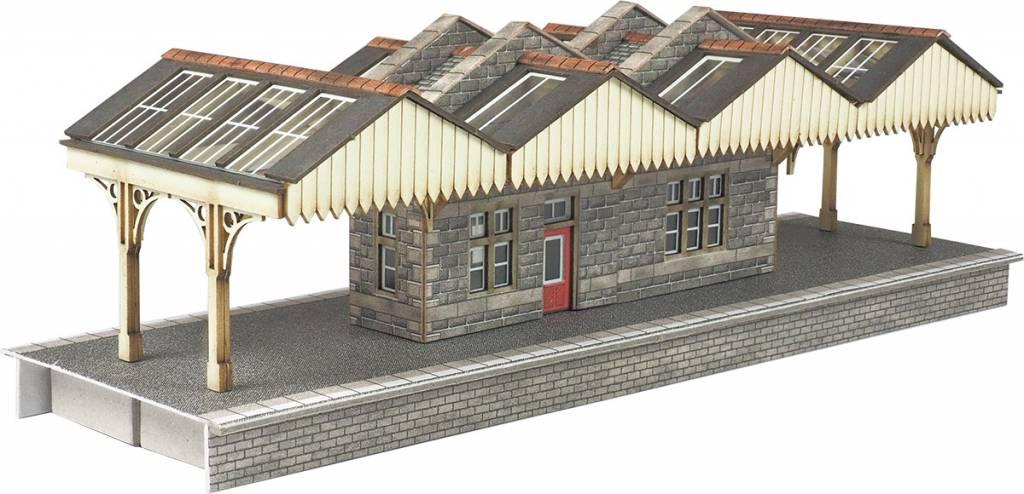 Metcalfe PN922 Island Platform Buildings (Gauge N)