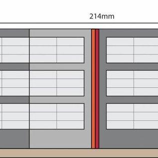 Metcalfe Metcalfe PO341 Mauergestützte Bahnsteigüberdachung  (Spur H0/00)