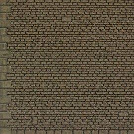 """Metcalfe Metcalfe MO058 Zelfbouw platen """"grof stenen muur"""" (Schaal HO/00)"""