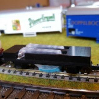 KPF-Zeller SRE-N Track Cleaning Car DC (Gauge N)
