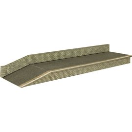 Metcalfe Metcalfe PN135 Perron in grijze steen (Schaal N, Karton)