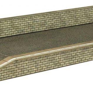 Metcalfe Metcalfe PN135 Perron in grijze steen (Schaal N)