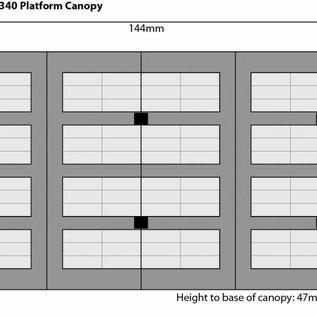 Metcalfe Metcalfe PO340 Platform Canopy (H0/OO)