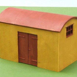 Skytrex Skytrex 7/101 golfplaten perron hut (schaal O)