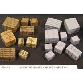 Skytrex Skytrex SMRA1 crates & boxes (Gauge O)