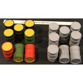 Skytrex Skytrex SMRA11 oil drums (Gauge O)
