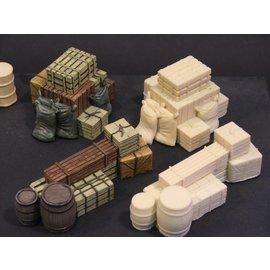 Skytrex Skytrex SMRA15 crates, barrels and sacks (Gauge O)