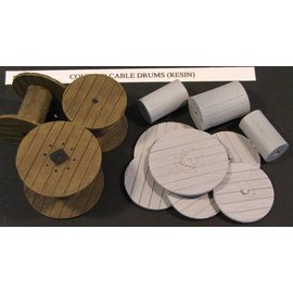 Skytrex Skytrex SMRA19 empty cable drums (Gauge O)