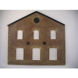 Skytrex Skytrex SMRS36 Two storey gable ended warehouse/factory  (Gauge O)