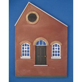 Skytrex Skytrex SMRS37A 1 bay North light gable office/door  (Gauge O)