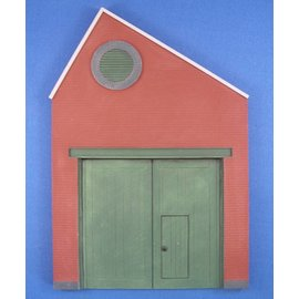 Skytrex Skytrex SMRS37D 1 bay North light gable wooden doors  (Gauge O)