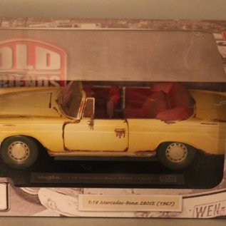 "Maisto 32103 1967 Mercedes-Benz 280SE ""Old Friends"" (scale 1:18)"