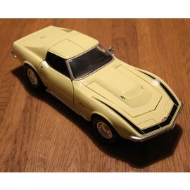 Hot Wheels MT0897 1969 Chevrolet Corvette ZL1 (schaal 1:18)