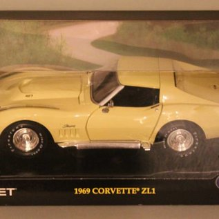 Hot Wheels MT0897 1969 Chevrolet Corvette ZL1 (Massstab 1:18)