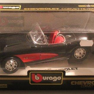 Burago 3034 1957 Chevrolet Corvette (scale 1:18)