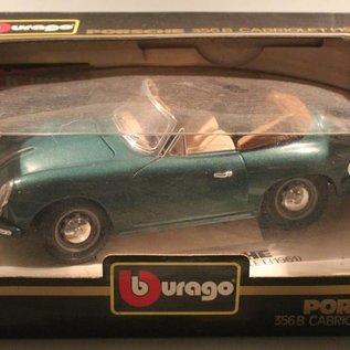 Burago 3031 1961 Porsche 356B cabriolet (scale 1:18)