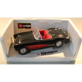Burago 3034 1957 Chevrolet Corvette (scale 1:18)