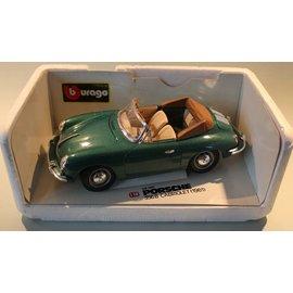 Burago 3031 1961 Porsche 356B cabriolet (schaal 1:18)