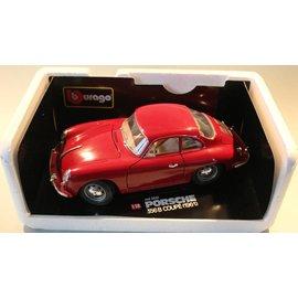 Burago 3021 1961 Porsche 356B coupe (schaal 1:18)