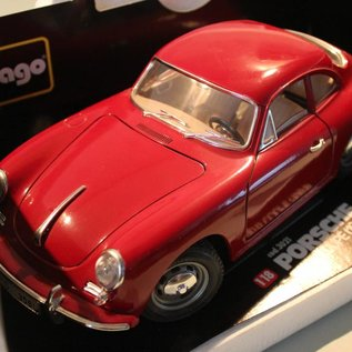 Burago 3021 1961 Porsche 356B coupe (Massstab 1:18)