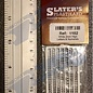 Slater's Plastikard SL1102 Miniatuur letters (alfabet) 2mm Slaters