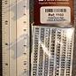 Slater's Plastikard SL1103 Miniatuur letters (alfabet) 3mm Slaters