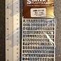 Slater's Plastikard SL1106 Miniatuur letters (alfabet) 6mm Slaters