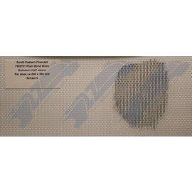 South Eastern Finecast FBS701 Selbstbauplatte Backstein in halbstein Verbund. Maßstab O aus Kunststoff