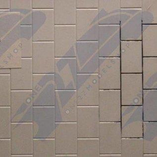 South Eastern Finecast FBS705 Zelfbouwplaat Straatstenen, schaal O, Plastic