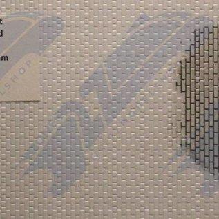 South Eastern Finecast FBS714 Selbstbauplatte Backstein in Amerikanischer Verbund. Maßstab O aus Kunststoff