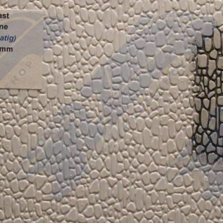 South Eastern Finecast FBS716 Builder Sheet embossed Random stone , O gauge, plastic