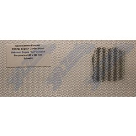 South Eastern Finecast FBS723 Builder Sheet embossed English garden bond, O gauge, plastic