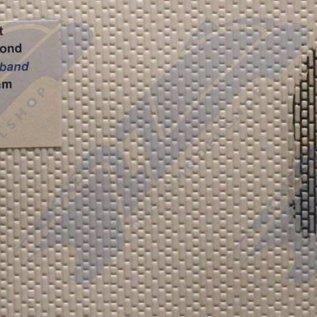 South Eastern Finecast FBS723 Builder Sheet embossed English garden bond, O gauge, plastic