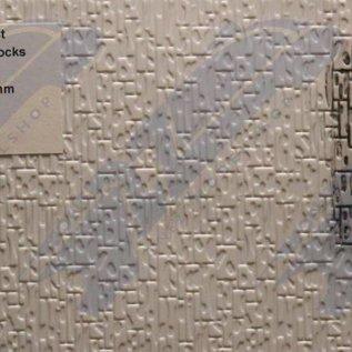 South Eastern Finecast FBS717 Zelfbouwplaat Natuursteen (recht), schaal O, Plastic
