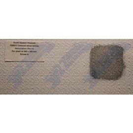 South Eastern Finecast FBS217 Zelfbouwplaat Natuursteen (recht), schaal N, Plastic