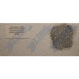 South Eastern Finecast FBS718 Builder Sheet embossed Textured concrete, O gauge, plastic