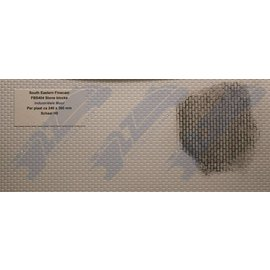 South Eastern Finecast FBS404 Builder Sheet embossed Stone blocks, H0/OO gauge, plastic