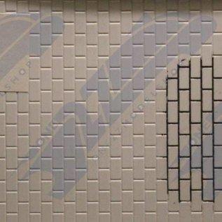 South Eastern Finecast FBS704 Selbstbauplatte Industriemauer. Maßstab O aus Kunststoff