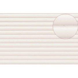 Slater's Plastikard SL437 Plasticard corrugated white gauge 0