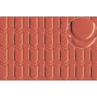 Slater's Plastikard  Titel  SL440 Zelfbouwplaat Dakbedekking pannen (Schaal 0) Kunststof