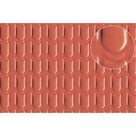Slater's Plastikard SL441 Zelfbouwplaat Dakbedekking pannen (Schaal H0/OO) Kunststof