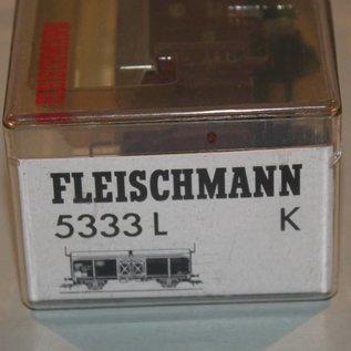Fleischmann Fleischmann 5333 L K Hubschiebedachwagen CFL DC Epoche IV (Spur HO)