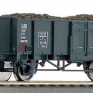 Roco Roco 66136 Set Offene Güterwagen mit Kohlenbeladung  CFL DC Epoche III (Spur HO)