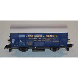 "Brawa Brawa 48222 Covered freight car ""Roesgen Nennig"" CFL DC era III (gauge HO)"